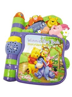 Vtech Winnie the Pooh - Slide n Learn Story Book Winnie the Pooh - Slide n Learn Story Book, Vtech toy / game (Barcode EAN = 0050803635039). http://www.comparestoreprices.co.uk/educational-toys/vtech-winnie-the-pooh--slide-n-learn-story-book.asp