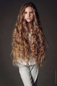 beautiful child ... incredible hair