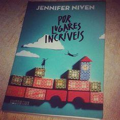 Leitura atual #Livro #instabook #book #jenniferniven #blogeuinsisto