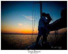 jacksonville nautical engagement session ; jacksonville wedding photographer; tonya beaver photography; sailboat engagement