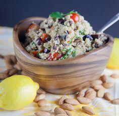 Moroccan-Inspired Quinoa Salad | picklesnhoney.com