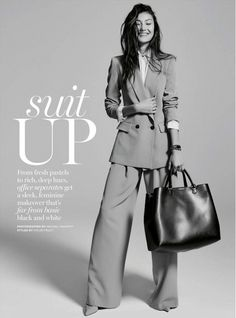 Next-level workwear style // Photo by: Michael Naumoff for Marie Claire Australia