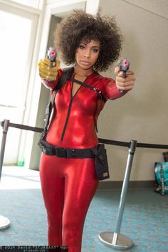 I've done it once! I'll do it again!  Character: Misty Knight Series: Marvel Comics
