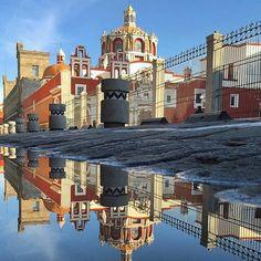 Aun con lluvia #Puebla es una chulada ;) foto de: @@arteenmexico http://ift.tt/1Kr2TAW