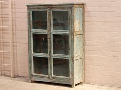 Blue Glass Cabinet - Scaramanga