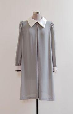 ✂ vintage 1980s Peter Blue Gown | Origin: Japan | http://etsy.me/1h5iOqd