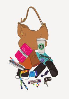 Emily Kiddy: Bag Illustration