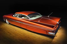 """Stylish Chevy Kustom I remember this car from back in the day when Randy """"Snake"""" owned it. My Dad and I were talking about it just . 1959 Chevy Impala, Automobile, Us Cars, Car Car, Custom Cars, Concept Cars, Vintage Cars, Cool Cars, Dream Cars"""