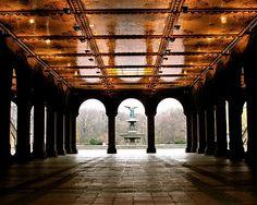 Bethesda Fountain & Terrace, Central Park, NYC