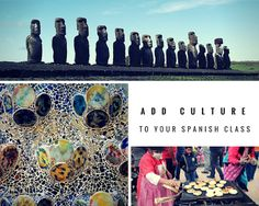 Teaching Culture with Cultura Diaria: Daily Culture Facts for Each Day of Spanish Class Spanish Teacher, Spanish Classroom, Teaching Spanish, Classroom Ideas, Future Classroom, Spanish Basics, Spanish Lessons, Teaching Culture, Spanish Games