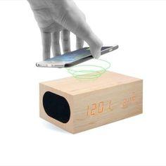 . Altavoz bluetooth unotec bamboo con carga por induccion para iphone 6/6s..con el altavoz unotec bamboo, con carga por inducci�n para iphone, podr�s reproducir m�sica en alta calidad a la vez que cargas tu dispositivo. podr�s escuchar tu m�sica donde quier
