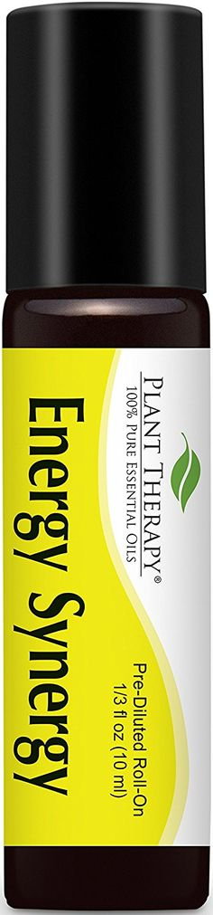 Energy Synergy Pre-Diluted Essential Oil Roll-On 10 ml (1/3 fl oz). Ready to use! ** Check out this great image  : aromatherapy diffuser