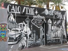 ❥ Vegas Mural