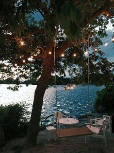 summer vibes at the lake lake vibes summer ; summer vibes at the lake ; Les Hamptons, Haus Am See, Jolie Photo, Lake Life, Summer Vibes, Future House, Outdoor Living, Lakeside Living, Rv Living