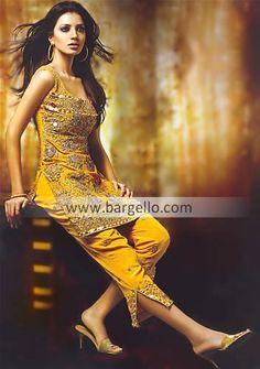 Iridescent Gold Crepe Silk Shalwar Kameez, Salwar Kameez Crepe Silk Pakistan