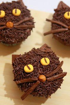 halloween desserts kitty litter cake