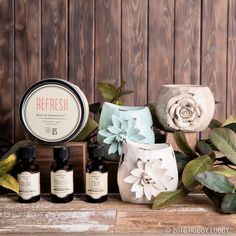Aromas can do wonders for your well-being. Infuse your home with the calming aromas of our essential oil and container candle collections. Candle Containers, Hobby Lobby, Gifts For Him, Home Accessories, Essential Oils, Fragrance, Candles, Table Decorations, Frame