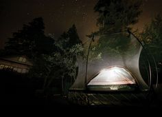Camping in the Backyard using your Springfree #springfree #backyard #campout