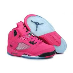 0820a9f1ba5b8a Find Nike Air Jordan 5 Womens Pink Black Shoes New online or in Footlocker.  Shop Top Brands and the latest styles Nike Air Jordan 5 Womens Pink Black  Shoes ...