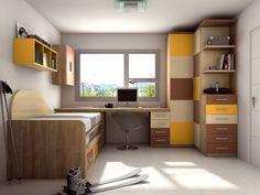 dormitorio juvenil 3 x 3 - Buscar con Google