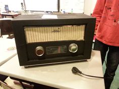 Ouderwetse radio surprise