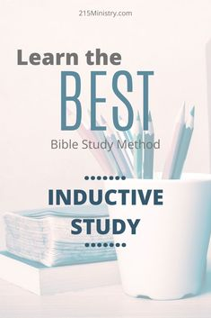 Inductive Bible Study will help you increase your Bible knowledge and understanding like never before! Learn how this works through this post. #inductivebiblestudy #inductivebiblestudymethod #biblestudy #bible