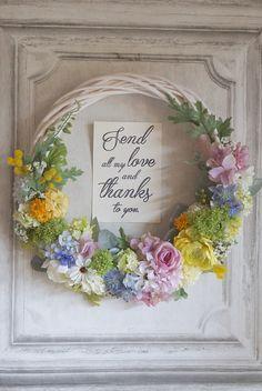 shortbreaks様専用カート* Natural wreath  bouquet  ラスティックウェディング リースブーケとお揃いのブートニア | ハンドメイドマーケット minne