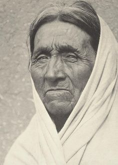 An Old Man of Taos 1929 By Ansel Adams