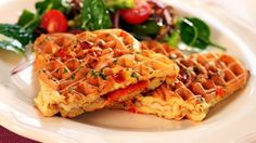 Pizzavafler Recipe Boards, Waffle Recipes, Chorizo, Scones, Kids Meals, Tapas, Muffins, Bacon, Sandwiches