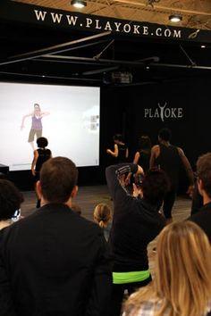 PLAYOKE: Weltweit erstes spielerisch basiertes Gruppenfitnesssystem PLAYOKE feiert auf der FIBO Premiere! Die in Wien ansässige PLAYOKE GmbH stellte bei der Eröffnung der FIBO in Essen ein revolutionäres Fitnesssystem für die Gruppe vor, das die Charakteristik bekannter Bewegungsspiele von Heimkonsolen in die Fitnessstudios bringen soll. Weitere Informationen: http://www.playoke.com/   http://www.attraktion.com/   http://www.pr4you.de/   http://www.pr-agentur-sport.de/