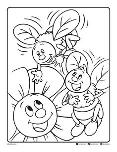 Follow the link below to download this coloring page! http://www.bendonpub.com/upload/coloring-pages/may-2015-bees.pdf