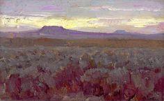 William Herbert Dunton, Desert Sunset
