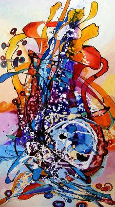 Ulcica ferecata – pictura pe panza