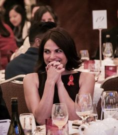 Lana Parrilla and Fred went to The Vancouver Aids walk - 25 September 2016