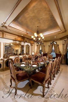 The Palm Dubai UAE Dining Room View