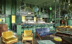 Venues don't come much lusher than Bar Botanqiue, a new bar and diner in Amsterdam East. Rising from the ashes of long running neighbourhood café De Ponteneur, Amsterdam practice Studio Modijefsky designed a visually rich interior that capitalises t...
