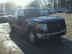 Salvage 2014 Ford F150 Supercrew