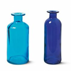 Use these glass bottles as vases, candle holders they are only £2
