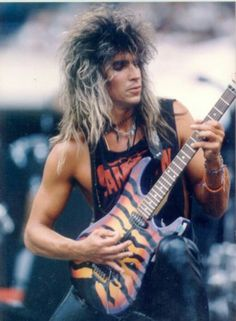 George Lynch and his tiger... I've been listening to WAY too much Dokken!
