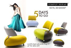 Till this August end, our entire collection of fine European furniture is on Sale. Up to 30% off across all products & brands. On the largest collection of sofas, dining, recliners, home theatre seating, cabinets, consoles and accessories. Visit www.simplysofas.in #Sale #SofaSale #FurnitureSale #SimplySofas #Sofasogood #offer #discount #worldsbestsale #leathersofas #leathersofasale #fabricsofas #bestsofasale #justonce #europeanfurniture #topbrands #simplysofassale #augustsale