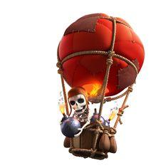 clash of clans balloon photos