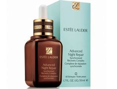 Estee Lauder Advanced Night Repair Serum  Tested and proven: Advanced Night Repair dramatically reduces the look of all key signs of aging. It maximizes the power of skin's natural nighttime renewal with our exclusive ChronoluxCB™ Technology. Lines and wrinkles look significantly reduced. More than 75% of women felt their skin looked more youthful in just 4 weeks.