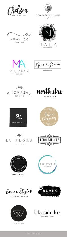 Modern minimalist pre-made logo designs |  $50  |  SO easy to customize!!!   |  Have you ever gotten a great piece of clothing on sale and then had it custom tailored?! And you're thinking heck yes! This feels like it was made for me. That's how I see these pre-made logos... (a few new ones just listed) These things are awesome!   clean lines | modern | minimalist | logo design  | branding