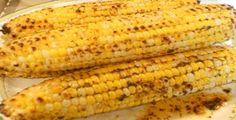 Yummy barbecue corn on the cob recipe from Finlandia Imported Butter. Yum! Yum! Yum!