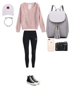 """""""Untitled #367"""" by skylar126 on Polyvore featuring adidas Originals, Armitage Avenue and Converse"""