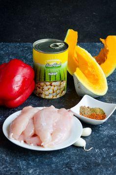 Salata calda cu naut si pui - Din secretele bucătăriei chinezești Falafel, Fresh Rolls, Kale, Ethnic Recipes, Food, Collard Greens, Falafels, Meals, Yemek