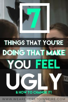 Every woman wants to be confident and feel pretty! Am I wrong? Believe it or not, there are plenty of girls who feel ugly. Reading this will give you some confidence on how to be happy and how to build your self esteem!