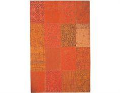 Vintage matta, orange, de Poortere deco