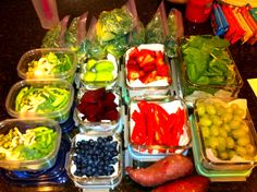 Healthy food prep for the busy woman