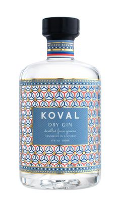 Koval Gin Doesn't Disappoint Label Design, Packaging Design, Wine Design, Graphic Design, Gin Joint, London Gin, Wine Merchant, Gin Bar, Wine